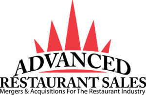 Advanced Restaurant Sales Logo with Mergers & Acquisitions For The Restaurant Industry Tagline